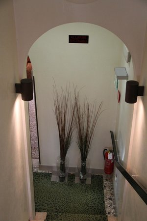 Ca' Pisani Hotel: The stairway down to the lobby