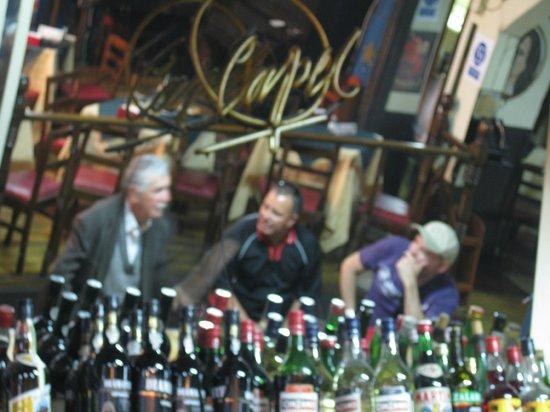Bar Restaurant Cinzano: Regular costumers
