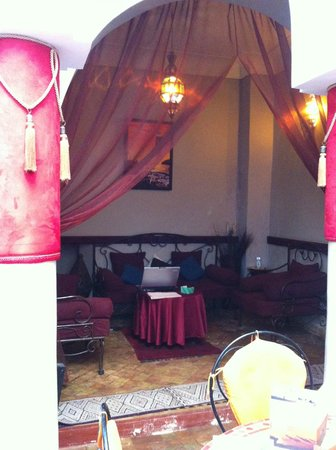 Riad Minorisa: Great wifi spot
