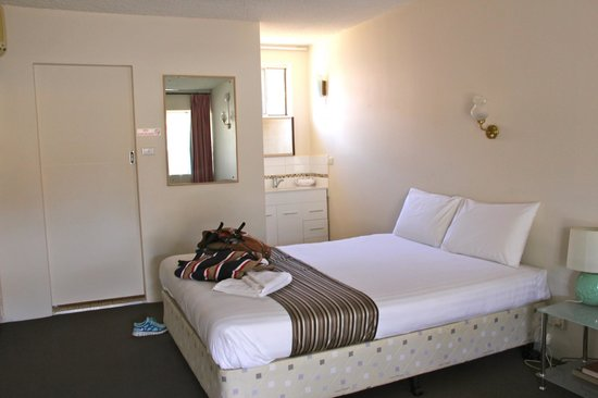 Coffs Harbour Pacific Palms Motel: Excellent bed