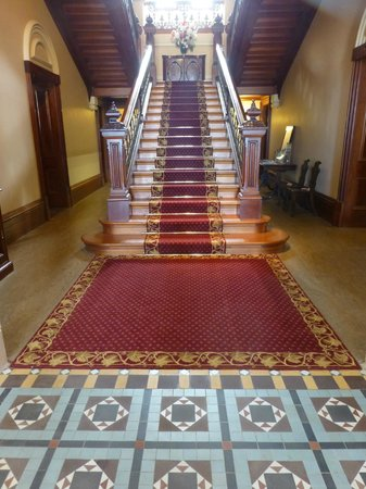 Barwon Park: Central Staircase