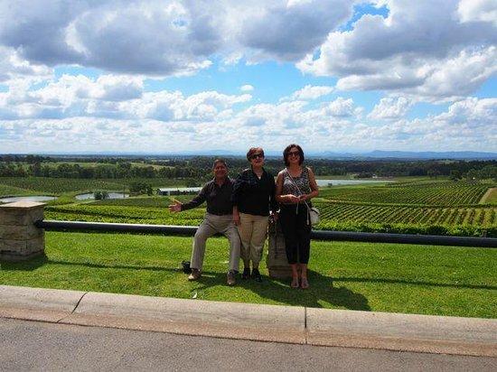 Audrey Wilkinson Vineyard: the view!