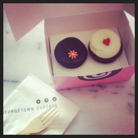 ... Ganache - Picture of Georgetown Cupcakes, Los Angeles - TripAdvisor