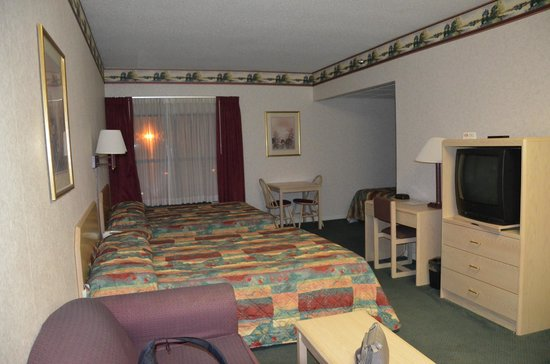 Alpine Lodge & Suites: Room.