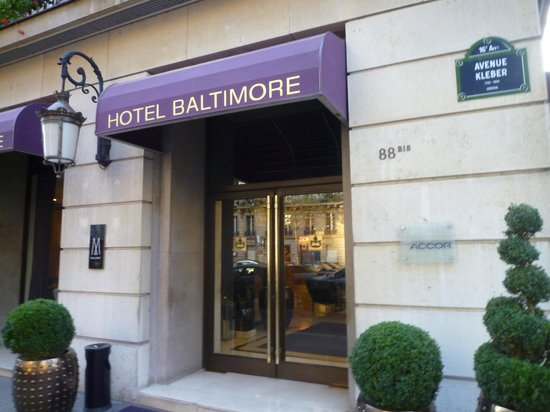 Hotel Baltimore Paris Champs-Elysees: Отель Балтимор