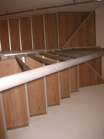 HiSuiteRome: stairs that will take you to the bedroom and washroom