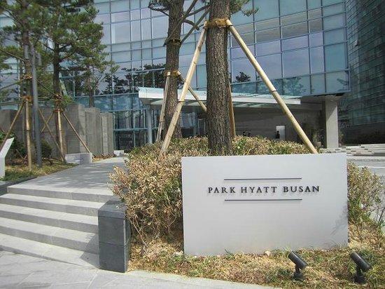 Park Hyatt Busan: Facade
