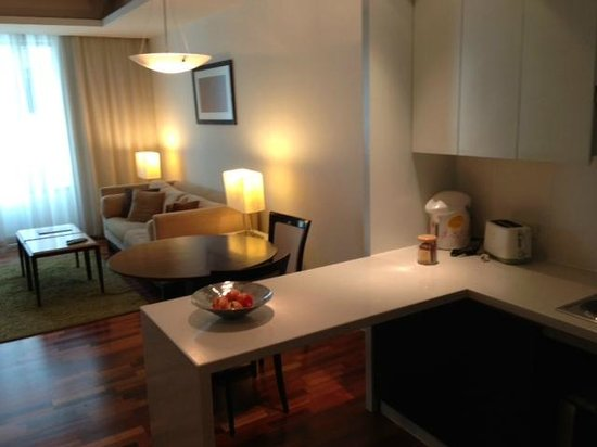 Natural Ville Executive Residences: living area