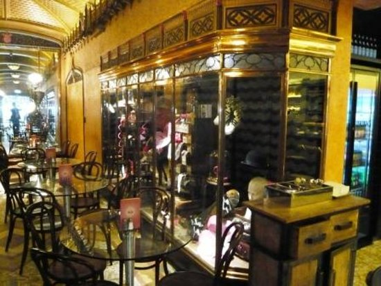 The Display Cabinets Are Fascinating Picture Of Parlour