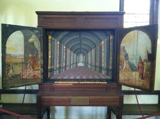 Historic St. Luke's Church : Old wooden organ