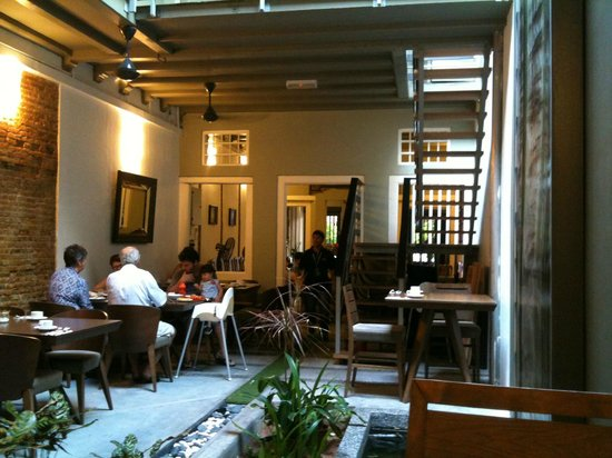 Courtyard @ Heeren Boutique Hotel: Breakfast