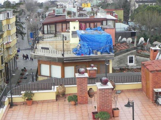 Seven Dreams Hotel : La azotea