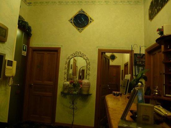 Hotel Paba : Reception
