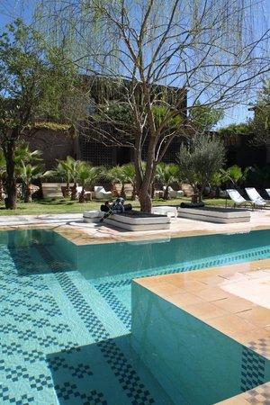 Domaine Malika : piscine