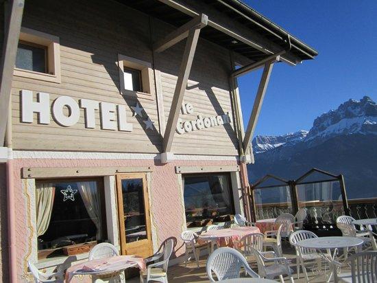 Hotel le Cordonant : facade