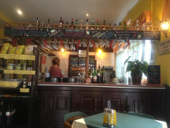 Vegetalia: Bar Area