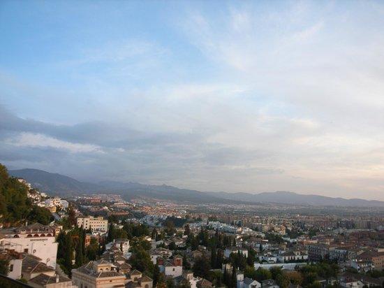 Hotel Alhambra Palace: カフェからの眺め