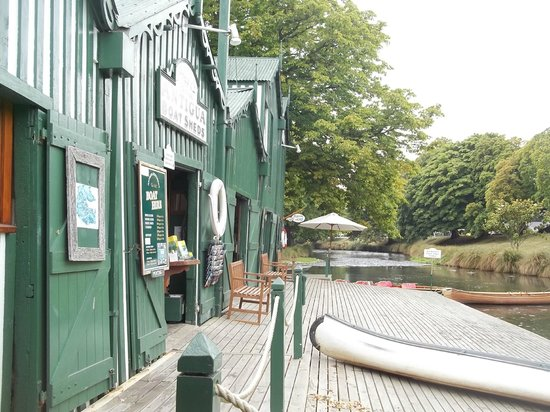 Boatshed Cafe: View from our  table