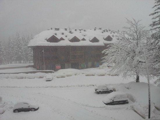 The Pioneers Hotel : quando è neve è neve!!