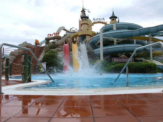 Aqua Fantasy Aquapark Hotel & SPA: Europe's highest slide ?
