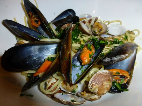 Trattoria Andri: Seafood Spaghetti