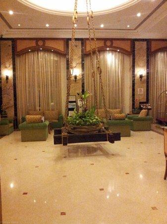 Vits Hotel : The reception area