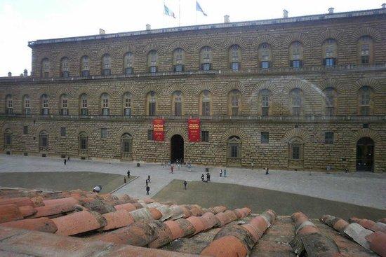 Soggiorno Pitti: VIsta dalla finestra della camera