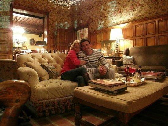 Hotel de Orangerie: comfy lounge bar