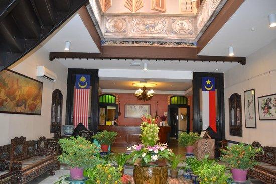 Hotel Puri: hall