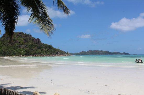 Anse Volbert: Вид пляжа