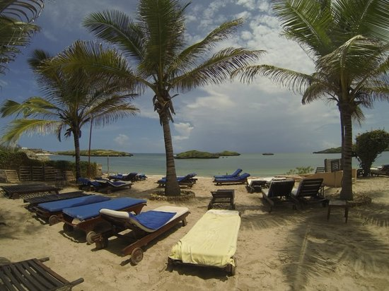 Aquarius Watamu Beach Resort: spiaggia