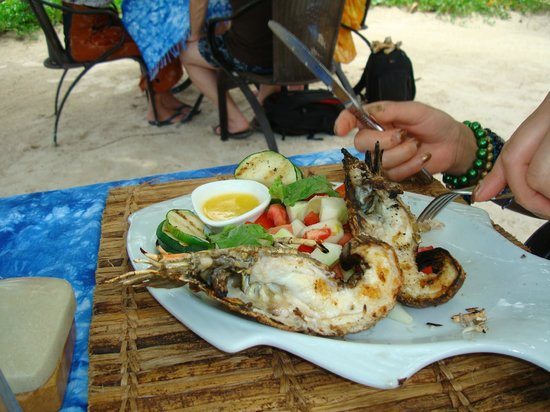 Breezes Beach Club & Spa, Zanzibar: Rock lobsters