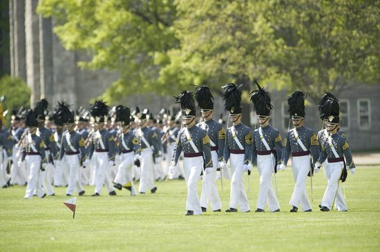 West Point, NY: Cadets Pass in Review