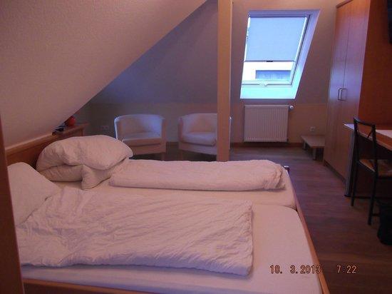 Lindenhof: Our loft room