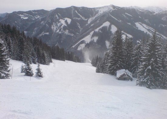 Hotel Post: One of the best pistes of Saalbach