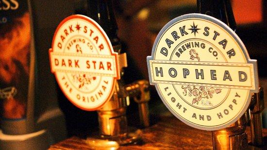 Shepherd & Flock Pub: beer pumps