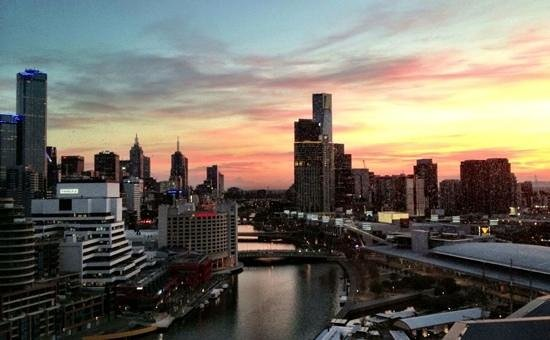 Pan Pacific Melbourne: View from my hotel room.