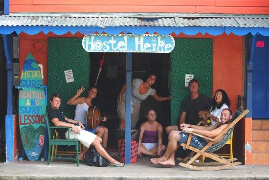 Hostel Heike : Entrada principal