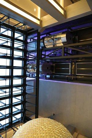 Hotel de Paris Saint-Tropez: Der zukünftige Pool von unten