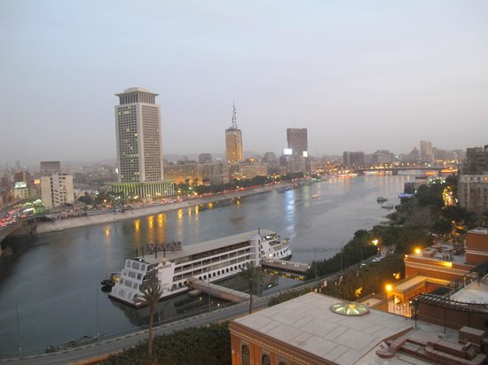 Cairo Marriott Hotel & Omar Khayyam Casino: The Nile