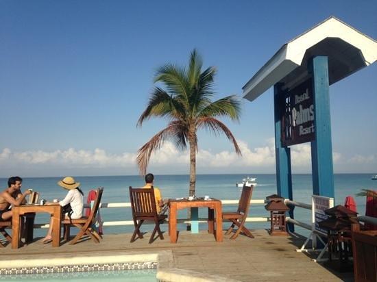 Negril Palms Hotel: ресторан