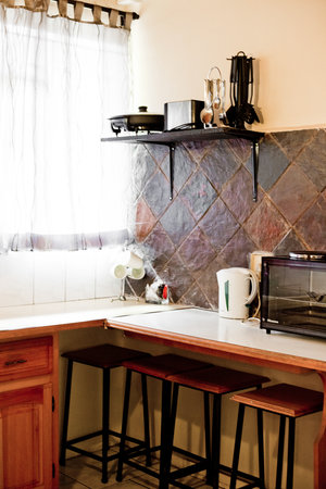 African Lily Self Catering Family Suites: All rooms each with a private kitchen