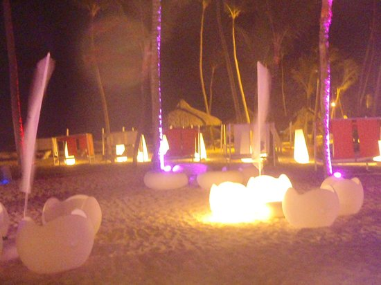 Paradisus Punta Cana: Playa de Noche