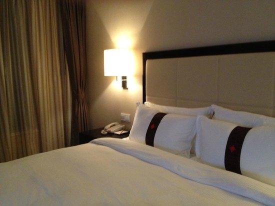 Lee Gardens Hotel Shanghai: ベット