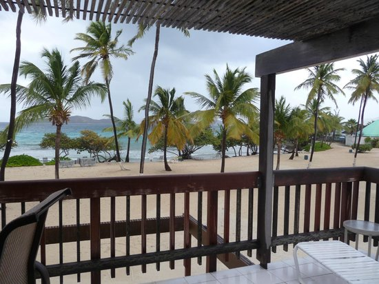 Sapphire Beach Resort: View from our balcony