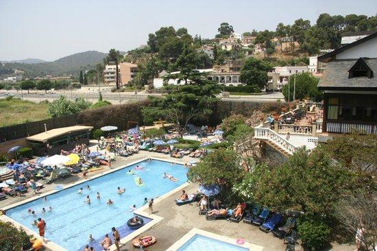 Santa Susanna Resort: From balcony
