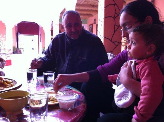 Berber Cultural Center: Mohamed & famiy
