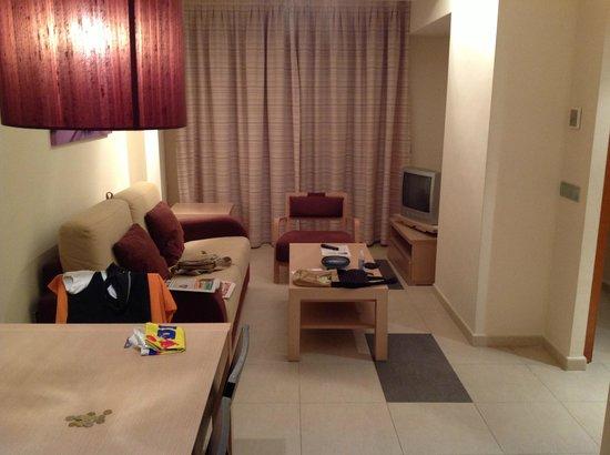 Marina Rey Hotel Almeria: Lounge in room