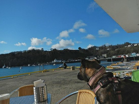 Pier Cafe Tobermory: The view