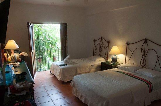 El Meson del Marques: hotel room